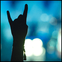 Horns up at Dong Open Air Festival 2014